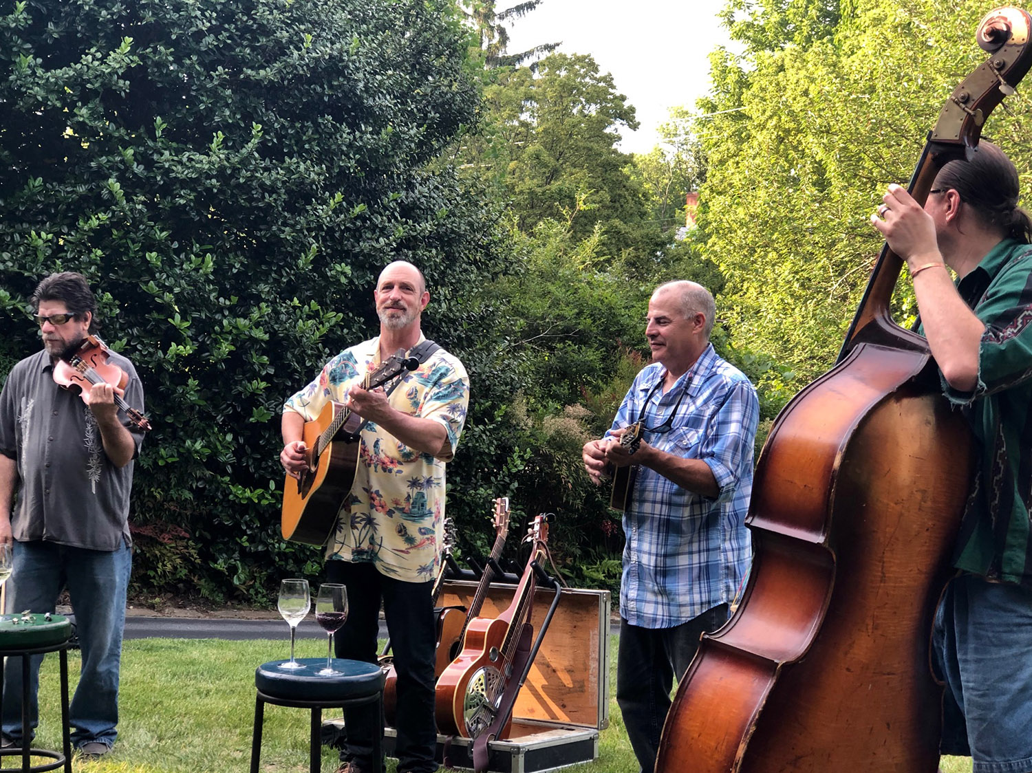 Mountain Music in Montford – No Happier Hour