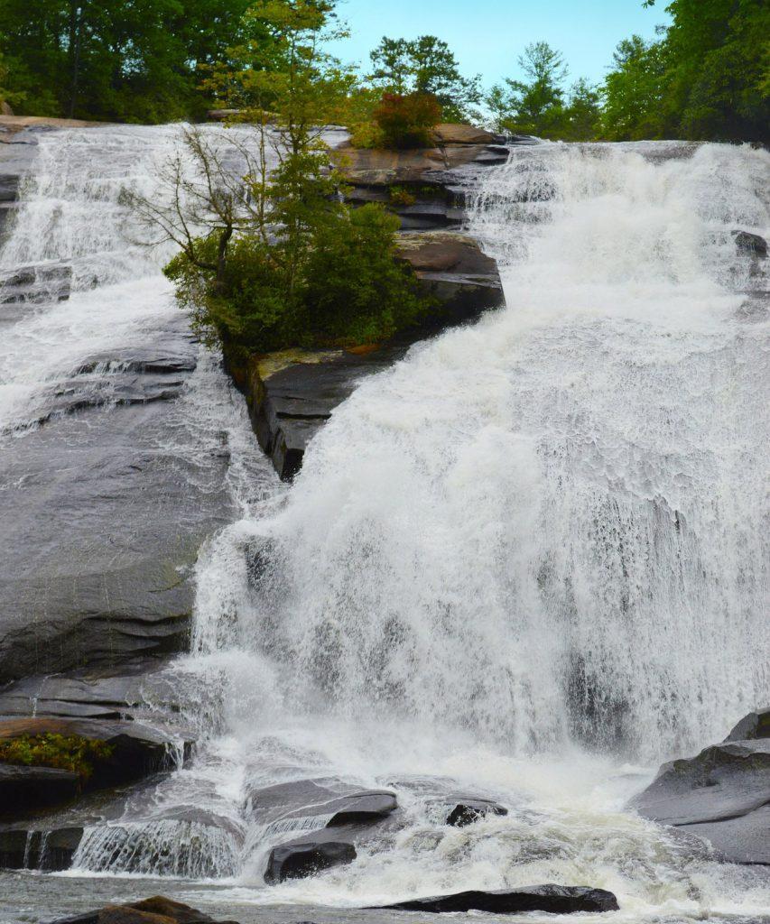 Waterfall in Asheville